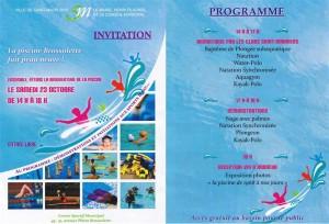 Inauguration piscine
