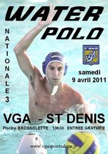 Water polo 9 avril 2011