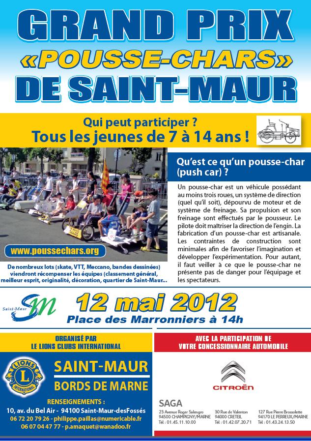 """Grand Prix """"Pousse Chars"""""""