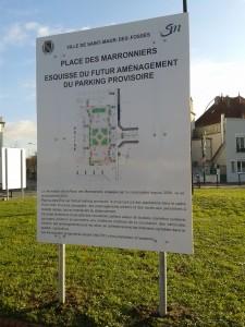 Esquisse d'aménagement (Projet Mairie)