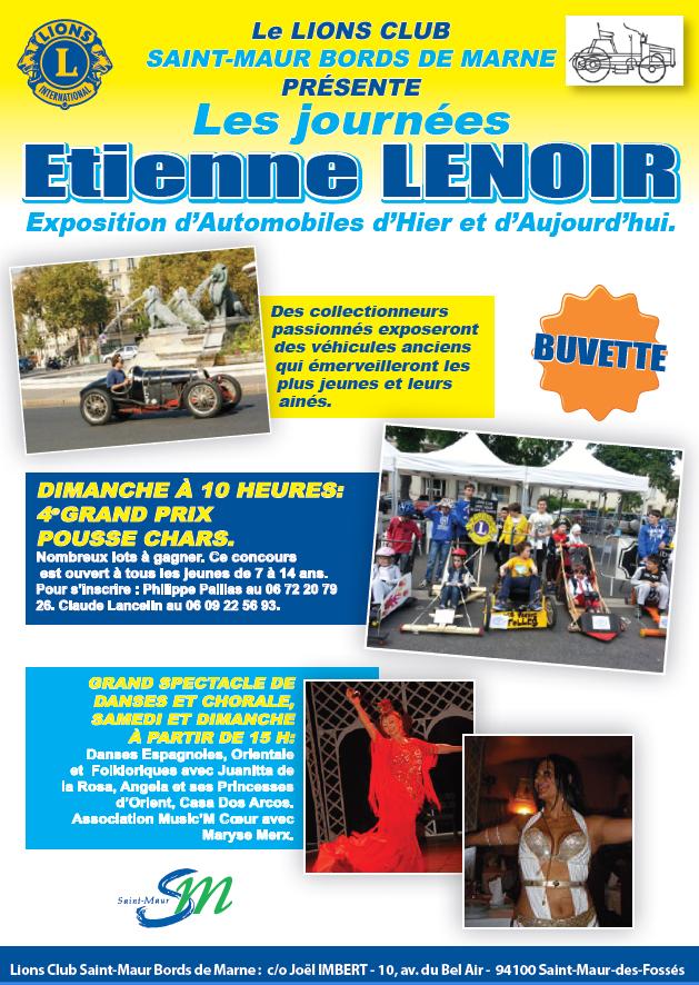 Journées Etienne Lenoir 2013