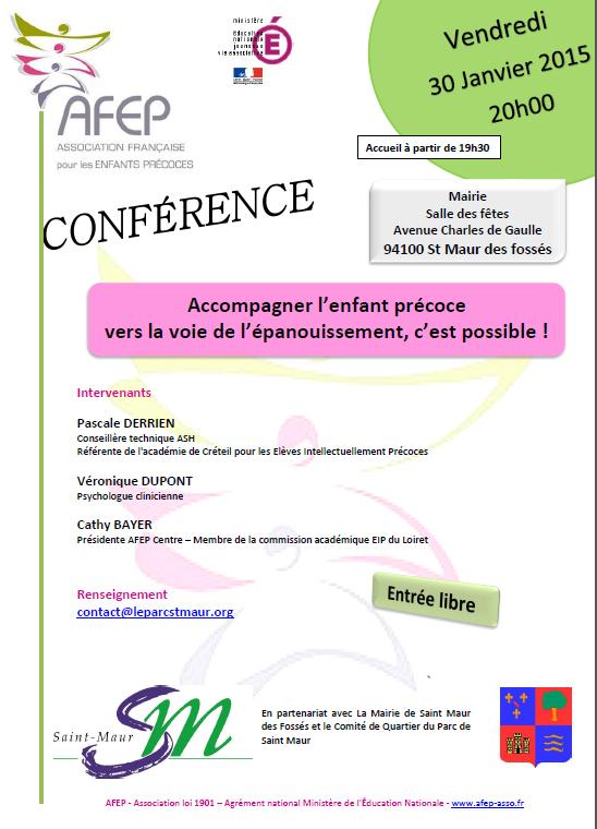 Conférence St Maur